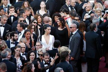 Adriana Lima 'Julieta' - Red Carpet Arrivals - The 69th Annual Cannes Film Festival