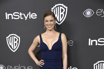 Adrianne Palicki Warner Bros. Pictures and InStyle Host 18th Annual Post-Golden Globes Party - Arrivals