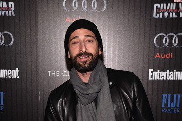 Adrien Brody The Cinema Society With Audi and FIJI Water Host a Screening of Marvel's 'Captain America: Civil War'