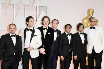 Adrien Brody Wes Anderson Arrivals at the 87th Annual Academy Awards — Part 3