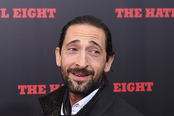 Adrien Brody The New York Premiere of 'The Hateful Eight'