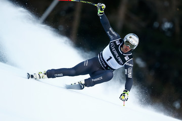 Adrien Theaux Audi FIS Alpine Ski World Cup - Men's Super Giant