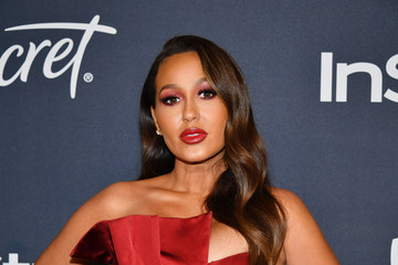 Adrienne Bailon 21st Annual Warner Bros. And InStyle Golden Globe After Party - Arrivals