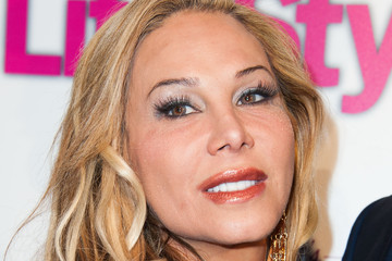 Adrienne Maloof Life & Style's Hollywood in Bright Pink Event