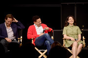 Nat Faxon, Eric Andre and Abbi Jacobson speak onstage at the Netflix Adult Animation Q&A and Reception on April 20, 2019 in Hollywood, California.