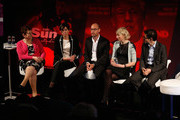 (L-R) Jackie Ballard, CEO at Alcohol Concern, Tracy De Groose, CEO, UK & Ireland at Dentsu Aegis Network, Richard Stainer, CEO at TBWALondon, Pippa Glucklich, co-CEO at Starcom MediaVest Group UK and Steve Hatch, Director, EMEA at Facebook attend From Brief to Output in One Day: The Results during Advertising Week Europe 2016 at Picturehouse Central on April 21, 2016 in London, England.