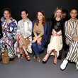 Adwoa Aboah Tory Burch Fall Winter 2020 Fashion Show - Front Row