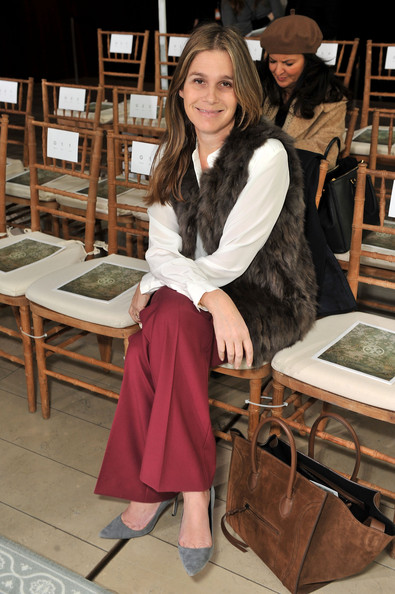 Aerin Lauder Pictures Tory Burch Front Row Fall 2012