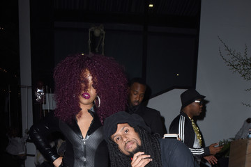 Affion Crockett Ciroc Kicks Off Halloween With Lenny S. & Kelly Rowland's Costume Couture
