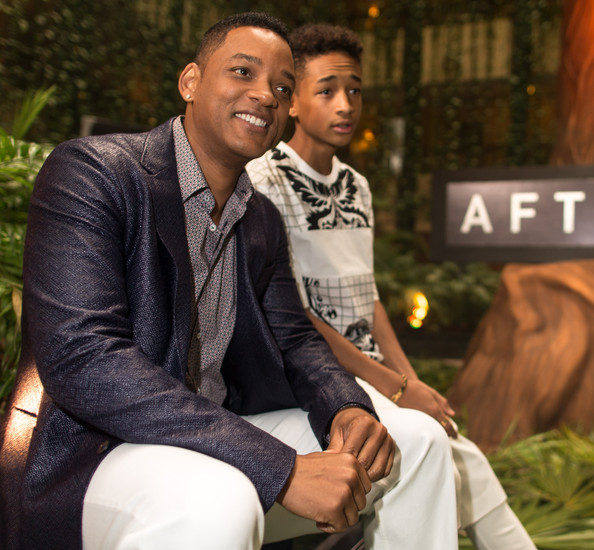 "Actors Will Smith (L) and Jaden Smith attend the ""After Earth"" photo call at The 5th Annual Summer Of Sony at the Ritz Carlton Hotel on April 23, 2013 in Cancun, Mexico."
