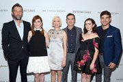 """Bart Freundlich, Julianne Moore, Michelle Williams, Billy Crudup, Abby Quinn and Davi Santos attend """"After The Wedding"""" New York Screening at Regal Essex on August 06, 2019 in New York City."""