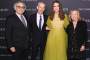 "Stephen Gilula, Director James Kent, Keira Knightley and Nancy Utley attend a screening for ""The Aftermath"" in New York City at the Whitby Hotel on March 13, 2019 in New York City."