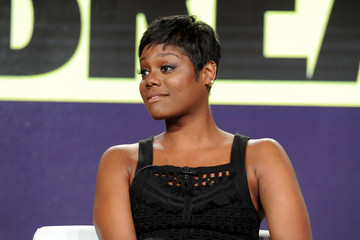 Afton Williamson Viacom Winter TCA Panels and Party