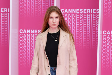 Agathe Bonitzer 'The Truth About The Harry Quebert Affair' Pink Carpet Arrivals - The 1st Cannes International Series Festival