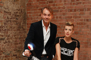 Adrian van Hooydonk Agyness Deyn Launches New Mini Design Concept - Photocall