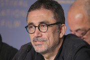 """Nuri Bilge Ceylan attends """"Ahlat Agaci"""" Press Conference during the 71st annual Cannes Film Festival at Palais des Festivals on May 19, 2018 in Cannes, France."""