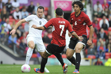 Ahmed Hegazi Olympics Day 2 - Men's Football - Egypt v New Zealand