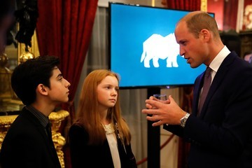 Aidan Gallagher The Duke Of Cambridge Attends The 2018 Illegal Wildlife Trade Conference
