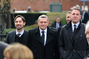 Aidy Boothroyd The Funeral Of Former England Football Manager Graham Taylor