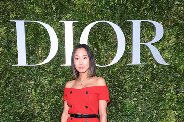 Aimee Song Christian Dior Celebrates 70 Years of Creation - Exhibition At Musee des Arts Decoratifs - Photocall