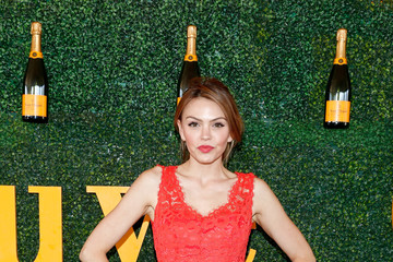 Aimee Teegarden Seventh Annual Veuve Clicquot Polo Classic, Los Angeles