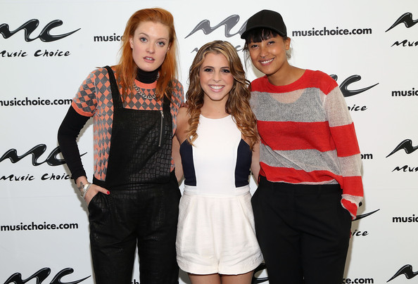 Icona Pop Celebrates Bring Your Kid to Work Day