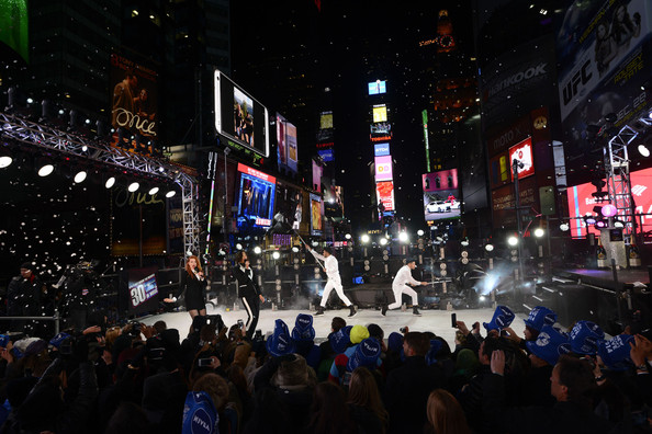 New Year's Eve Celebrated in Times Square