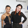Aino Jawo Warner Music Group Hosts Annual Grammy Celebration - Red Carpet
