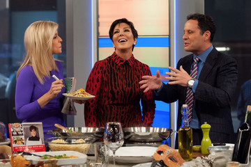 Ainsley Earhardt  Kris Jenner Visits 'FOX and Friends'