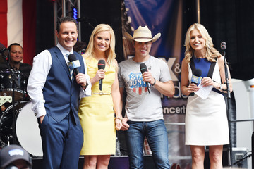 Ainsley Earhardt  'FOX & Friends' All American Concert Series - Dustin Lynch