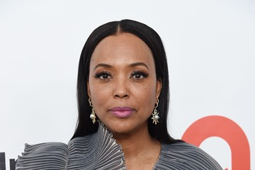 Aisha Tyler 28th Annual Elton John AIDS Foundation Academy Awards Viewing Party Sponsored By IMDb, Neuro Drinks And Walmart - Red Carpet