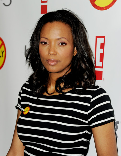 Aisha Tyler Actress Aisha Tyler arrives at the premiere of the ...