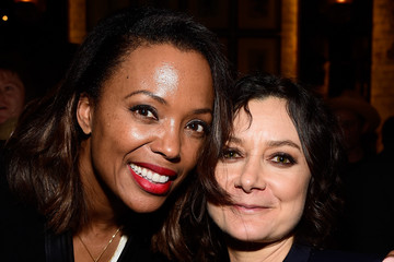 Aisha Tyler Sara Gilbert Linda Perry Celebration for the Song 'Hands of Love' from the Film 'Freeheld'
