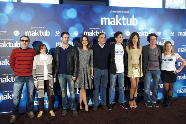 'Maktub' Photocall in Madrid