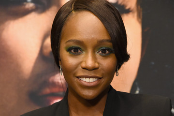 Aja Naomi King ELLE's 25th Annual Women In Hollywood Celebration Presented By L'Oreal Paris, Hearts On Fire And CALVIN KLEIN - Moët & Chandon