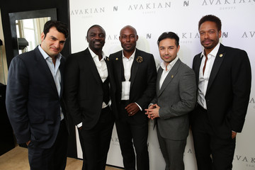Akon Celebs Visit the Avakian Suite