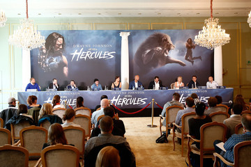 Aksel Hennie 'Hercules' Berlin Press Conference