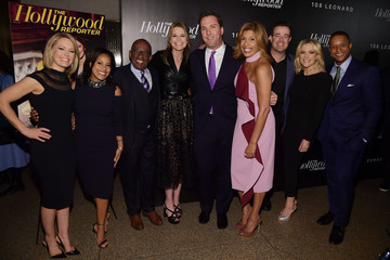 Al Roker Dylan Dreyer The Hollywood Reporter's Most Powerful People In Media 2018 - Arrivals