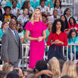 Al Roker Michelle Obama Celebrates International Day Of The Girl On NBC's 'Today'