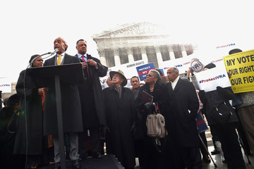 Al Sharpton Jesse Jackson Pelosi And House Leadership Discuss Voting Rights Case Heard In Supreme Court