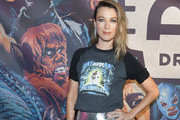 Natalie Zea attends the Alamo Drafthouse Los Angeles Big Bash Party at Alamo Drafthouse Cinema on August 08, 2019 in Los Angeles, California.