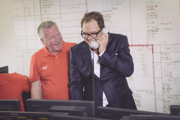 Alan Carr The 13th Annual BGC Charity Day At BGC Partners In London's Canary Wharf - Behind The Scenes Colour