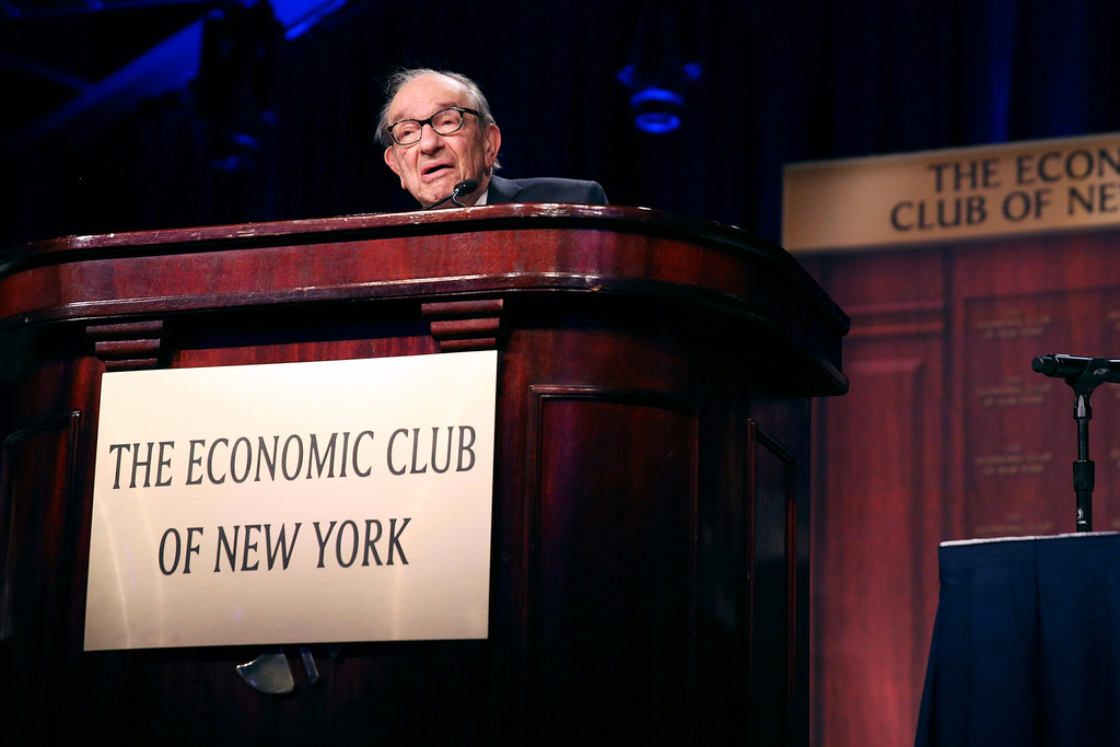 alan greenspan the dictator of economic Economic science and the holy grail of forecasting alan greenspan has recently alighted from his daily formaldehyde bath (h/t to vidoq for the imagery) to promo.