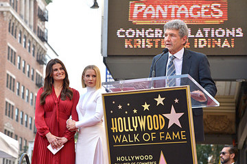 Alan Horn Double Walk of Fame Ceremony For Kristen Bell And Idina Menzel
