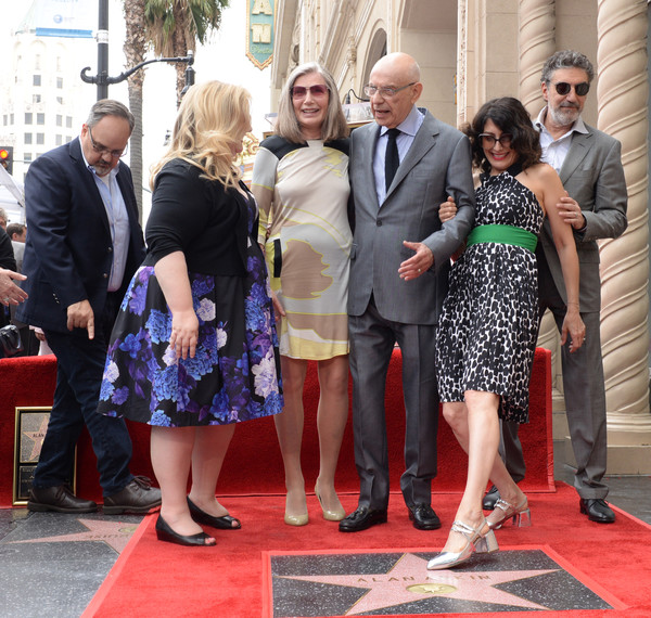 Alan Arkin Honored With A Star On The Hollywood Walk Of Fame