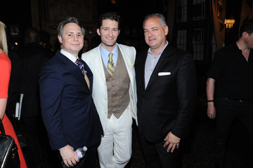 Alan Katz Matthew Morrison Honored at the Friars Club
