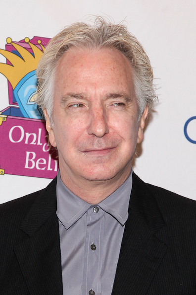 Alan Rickman Actor Alan Rickman attends the 12th Annual Make Believe on Broadway gala at the Shubert Theatre on November 14, 2011 in New York City.