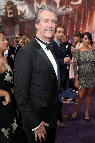IMDb LIVE After The Emmys Presented By CBS All Access [premiere,event,dress,fashion,suit,carpet,flooring,red carpet,formal wear,smile,imdb,cbs all access,california,los angeles,emmys,alan ruck]