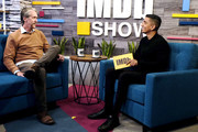 Alan Ruck and Tim Kash on the set of The IMDb Show on August 29 2019 in Studio City, California. The episode airs September 12th 2019.