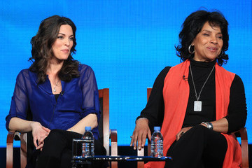 Alana De La Garza 2013 Winter TCA Tour - Day 3